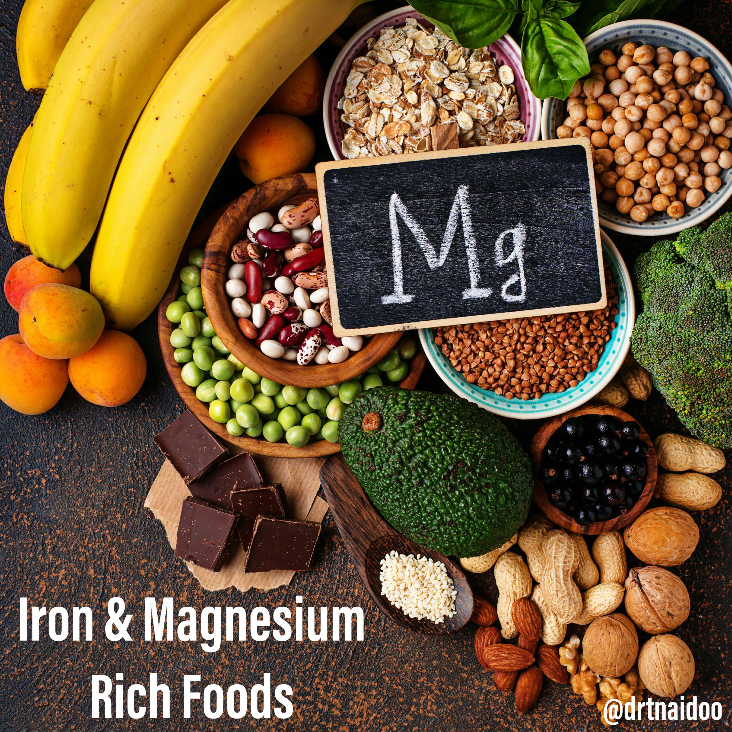 iron and magnesium